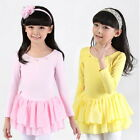 Girls Leotard Ballet Tutu Dancewear Skirt Dancing Dress 3-8Y Kid Skating Costume