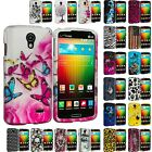 For LG Lucid 3 VS876 Hard Design Snap-On Case Cover Accessory