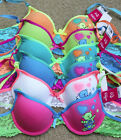 LOT Love Bear Pot Heart WIRE Full Cup Girl 28A 30A 32A 34A Cotton Teenager Bra