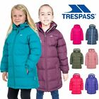 Trespass Tiffy Girls Puffa Jacket Childrens Padded School Coat Childs 2-12 Years