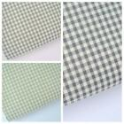 VINTAGE KENT 2 YARN DYED GINGHAM - COTTON FABRIC new 5mm check