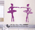 Dancing Ballet Ballerina Removable Wall Art Stickers Quotes Vinyl Decal Decor AU