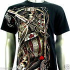 RC Survivor T-Shirt M L XL XXL 3XL King Card Gambling Skull Biker Tattoo WB15 D2