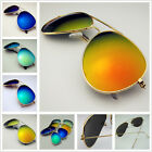 BOX Retro Aviator UV400 golf Motorcycles Glasses Woman Beach mirror sunglasses