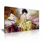 MODERN ART Nude Girl Canvas Framed Print Wall Deco ~ More Size