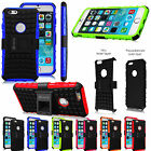 Heavy Duty Dual Layer Hybrid Rugged Case Cover KickStand for Apple iPhone 6 Plus