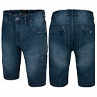 Mens Denim Chino Shorts Summer Work Half pant Cargo Combat Casual New BONDS