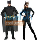 COUPLES THE DARK KNIGHT RISES BATMAN CATWOMAN ADULT COSTUME COSPLAY Halloween