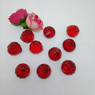10PCS 20MM Crystal Chandelier Part FengShui Faceted Glass Ball Prism Pendant