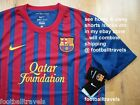 S M L XL XXL NIKE BARCELONA SHIRT JERSEY football soccer calcio DRIFIT TAGS NEW