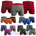 Mens Plain Striped Boxer Trunks Camo Army Boxer Shorts 2 Pack 3 Pack Multipack