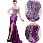 Stunning Sequins Mermaid Corset Evening Formal Ball gown Party Prom Dresses Long