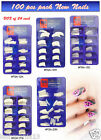 EMPRESS CURVE NAIL TIP FALSE NAIL ( 100pcs boxed)** BEST QUALITY& BEST PRICE**