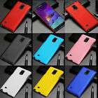 Hard Rubberized Snap-On Back Cover Case Slim Skin For Samsung Galaxy Note 4 N910