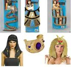 Egyptian Fancy Dress Accessories Cleopatra Costume Items New