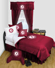 Alabama Crimson Tide Bed in a Bag Twin to Queen Comforter