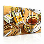 ART Graphic 5 3A Canvas Framed Printed Wall Art ~ More Size