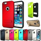 """For iPhone 6 (4.7"""") Heavy Duty Shock Absorbing Protection Kickstand Case Cover"""