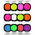 NEW STARGAZER UV REACTIVE FLUORESCENT NEON PRESSED EYESHADOW ALL BRIGHT COLOURS