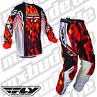 Fly Racing Trousers Jersey Kinetic MOTOCROSS ENDURO Mx Quad Fmx Cross Mtb Dh