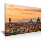 ITALY Florence City At Sunset Canvas Framed Print ~ More Size