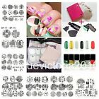 Nagel Schablone Nail Art Stamp Stamping Template Plates BORN PRETTY 1-54