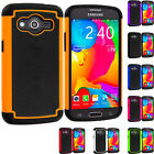For Samsung Galaxy Avant Hybrid Rugged Hard Matte Shockproof Armor Case Cover