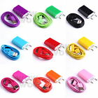 1 Pcs EU Wall Home Charger + USB Data Sync Charger Cable For iPhone 4 4G 4S iPod
