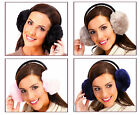 Ladies Fluffy Faux Fur Plush Ear Muffs - 4 Different Colours