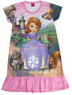 Disney Princess Sofia The First Girls Dress Children Kids Pajama Skirt 3-9Y Pink