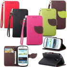 Deluxe Leather Flip Stand Pouch Wallet Money Card Clip Skin Soft Case Cover