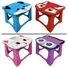 2 FineLife Step Easy Foldable Kids Stool Animal Bedroom Bathroom Holds 200lbs