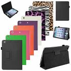 Folio Magnetic PU Leather Smart Cover Stand Case For Apple iPad Mini 1 2 3