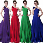 STOCK Sexy Long Chiffon Evening Party Ball Gown Prom Debut Bridesmaid Maxi Dress