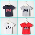 New Kids Girls Boys Clothes Printed  T-shirt Top multi colors from 6M-4Yrs