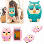 3D Cute Lovely Cartoon Animal Owl Soft Silicon Back Case Cover For Smart Phones
