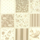 Rouenneries Deux Pearl French General Patchwork 4 inch sq  Print BT yard fabric