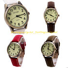 Women's Girl's Sport Quartz Watch Faux Leather Zinc Alloy Wristwatch Casual Pick