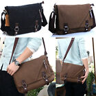 Man's Boy's New Cotton Canvas Messenger Bags Laptop Sleeve/Protection AB160