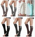 Women's Nice Crochet Knitted Lace Trim Boot Cuffs Toppers Leg Warmers Soft Socks
