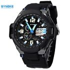 SYNOKE Children Synchronization Two time Sports Wrist Watches Swim Waterproof