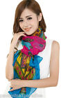 Bulgan Multi Color Design Voile Pashmina Shawl Scarf Wrap Stole Throw Wraps NEW