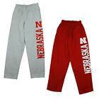 NCAA Men's Nebraska Cornhuskers Fleece Sweatpants Pants, 2 Colors