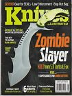 KNIVES ILLUSTRATED Magazine Aug 2013,ZOMBIE SLAYER KOLD from 5.11 Tactical, Fox.