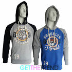 Mens Tokyo Tigers Branded Designer Boston Brooklyn Baseball Varsity Hoodie Top