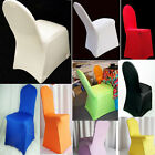Polyester Folding Banquet Universal Elasticity Chair Covers Wedding Hot