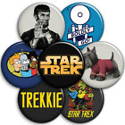 Star Trek - Parody Button Badges - 25mm 1 inch - Trekky, Trekkie, Spock, Scotty on eBay