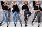 Women Sexy Jean Skinny Jeggings Stretchy Slim Leggings Fashion Skinny Pants 9076