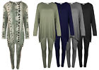SAMANTHA'S NEW WOMENS POM POM TRACKSUIT LADIES STRETCHABLE TOP AND LEGGING