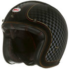 BELL CUSTOM 500 CHECK IT ROLAND SANDS RSD LOW PROFILE MOTORCYCLE HELMET